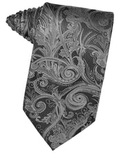 Load image into Gallery viewer, Silver Tapestry Necktie