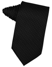 Load image into Gallery viewer, Black Venetian Necktie