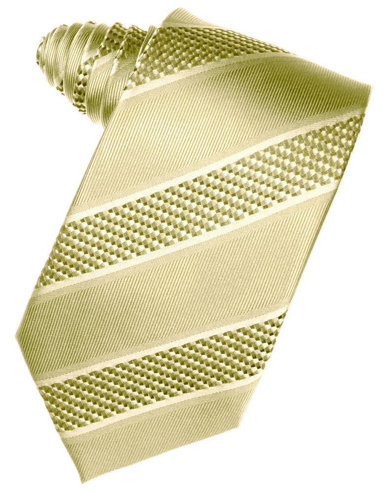 Honey Mint Venetian Stripe Necktie