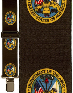 """Army Armed Forces"" Suspenders"