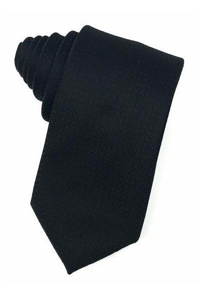Black Regal Necktie