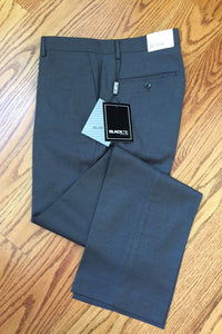 Steel Grey Luxury Wool Blend Suit Pants