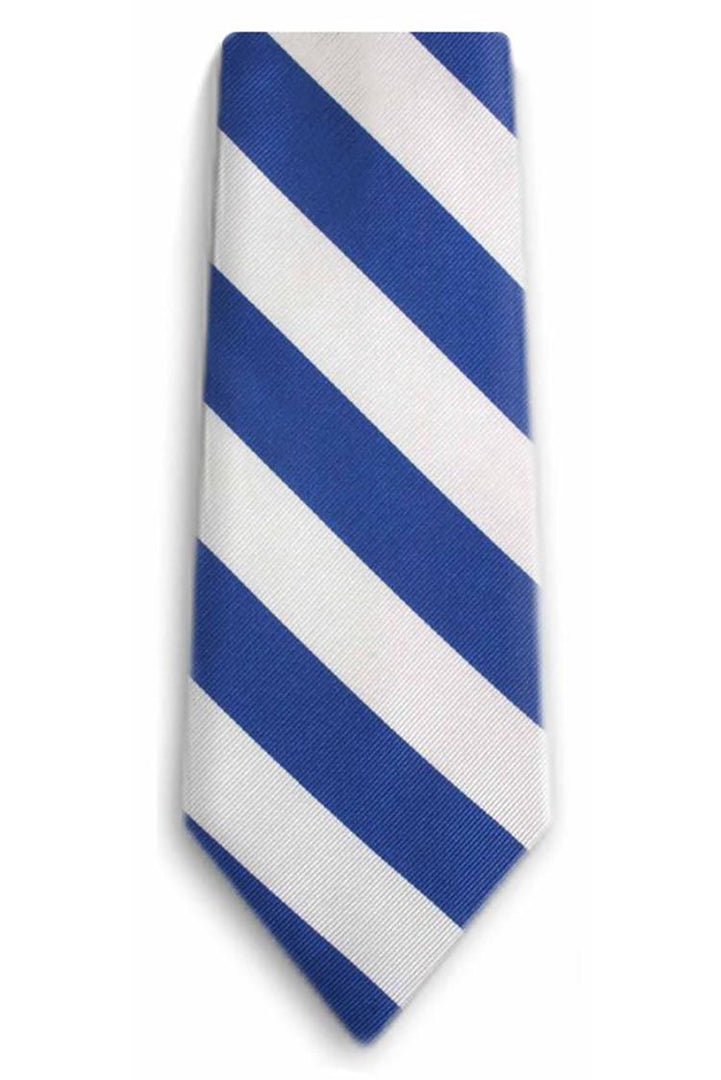 Tarheel Blue & White Stripe Tie