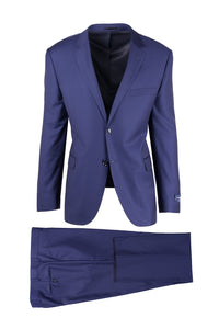 "Canaletto ""Sangria"" Ermenegildo Zegna Cloth French Blue Suit"