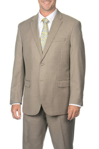 Caravelli Light Taupe Tonal Fancy Suit