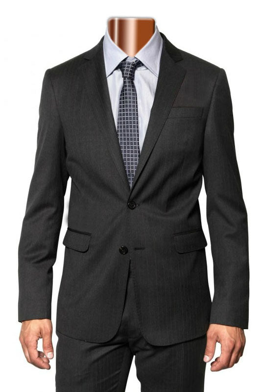 Caravelli Grey Tonal Stripe Suit