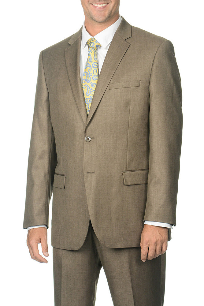 Caravelli Light Brown Tonal Fancy Suit