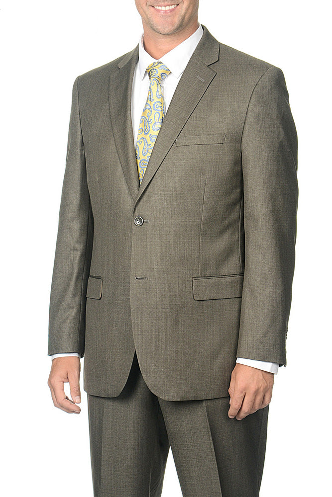 Caravelli Taupe Tonal Fancy Suit