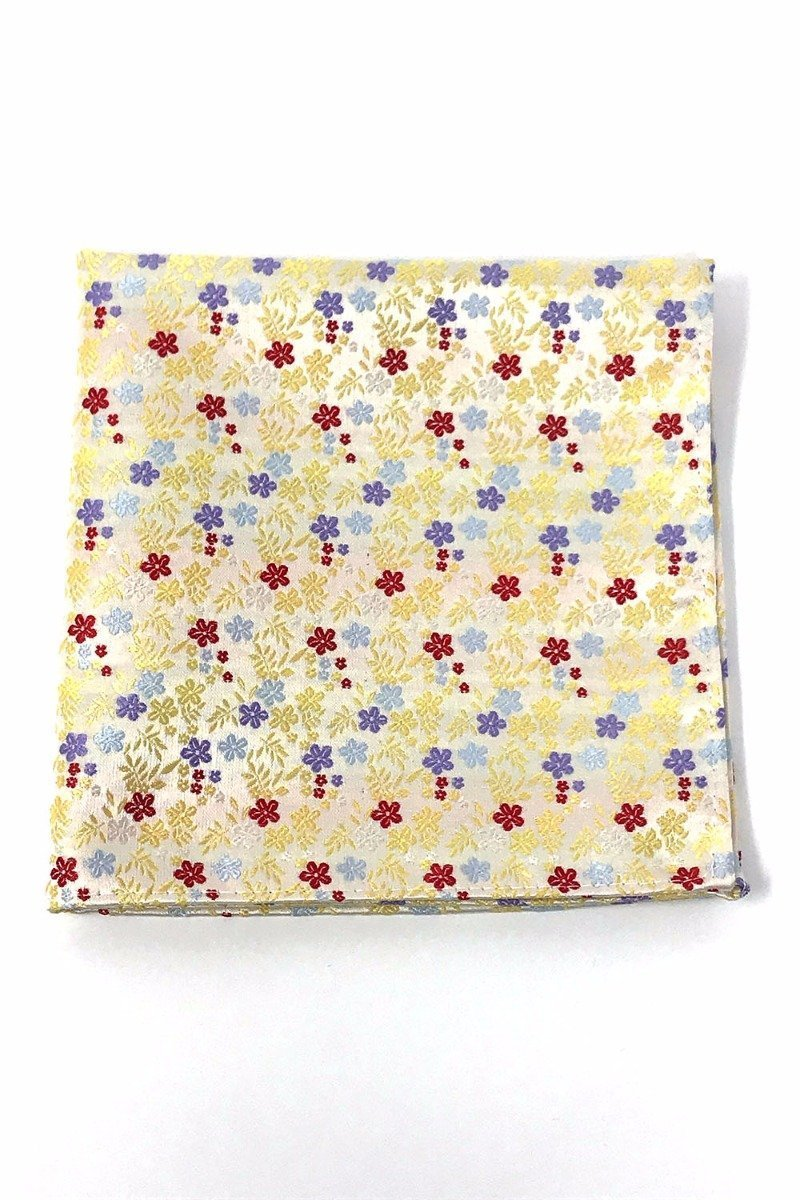 Yellow Enchantment Pocket Square