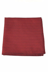 Red Regal Pocket Square