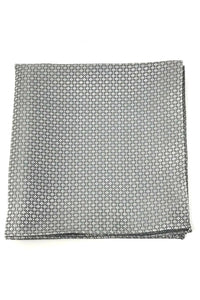 Grey Regal Pocket Square