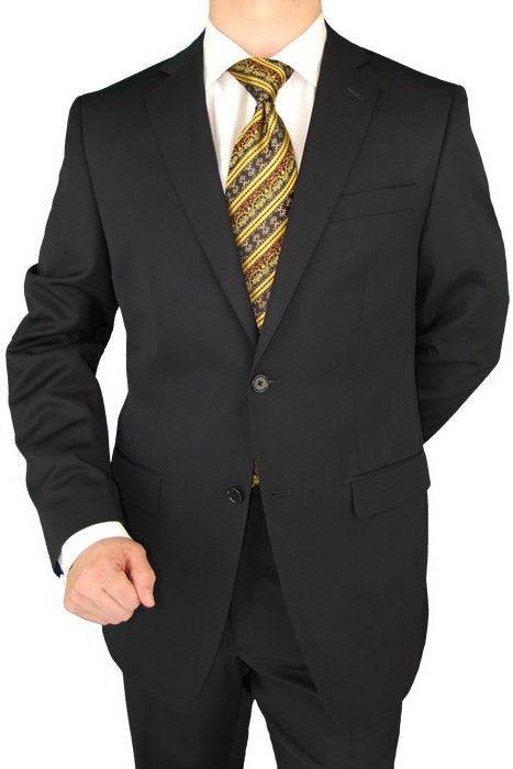 Cianni Cellini Solid Black Suit