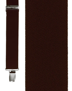 """Dark Brown Newport"" Suspenders"