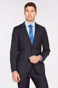 Enzo Solid Navy Suit