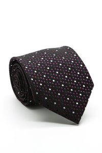 Purple and Black Avalon Necktie
