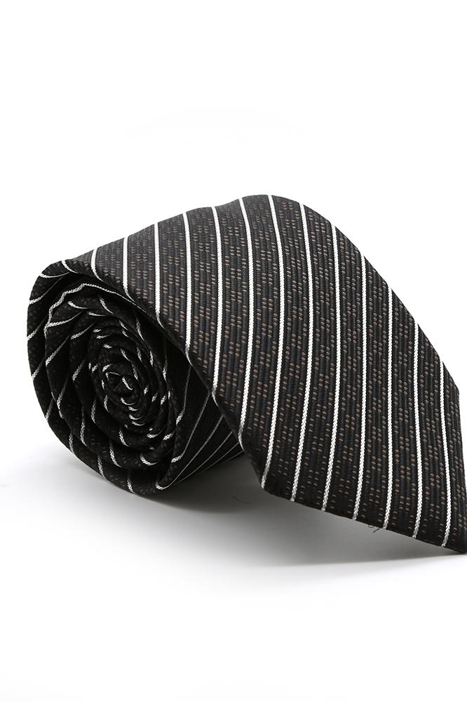Black and Brown Belvedere Necktie