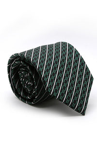 Black and Green Belvedere Necktie