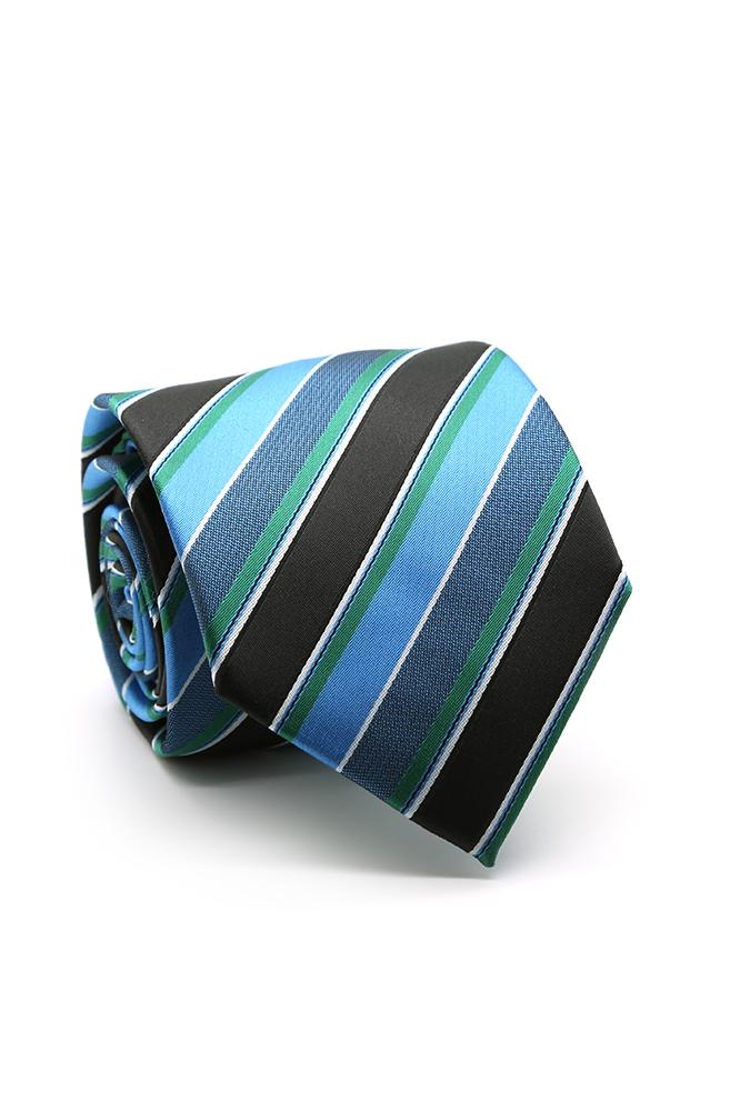 Blue and Green Willows Necktie