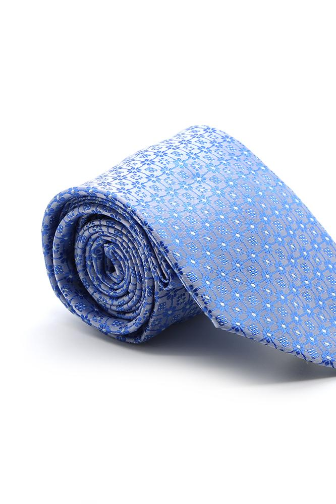Blue and White Fairfax Necktie