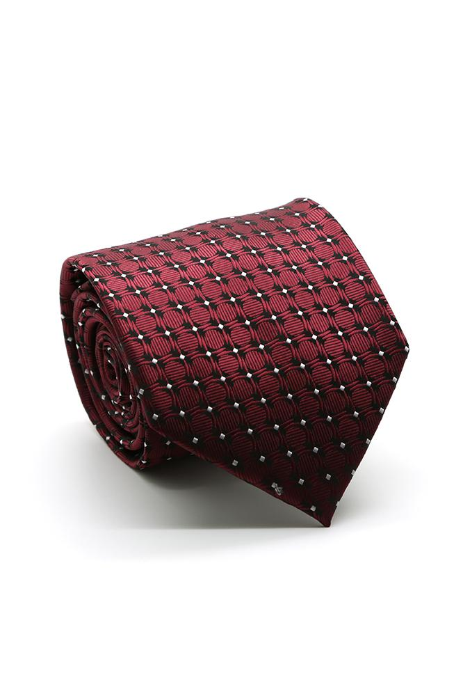 Burgundy Pacifica Necktie