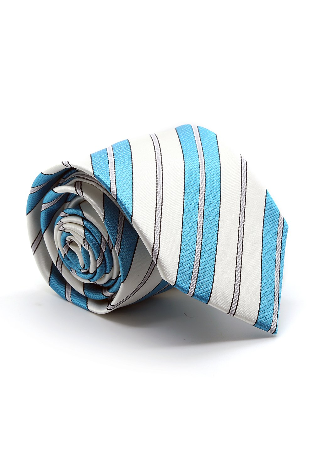 Turquoise and White Santa Maria Necktie