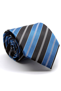Turquoise and Black Santa Maria Necktie