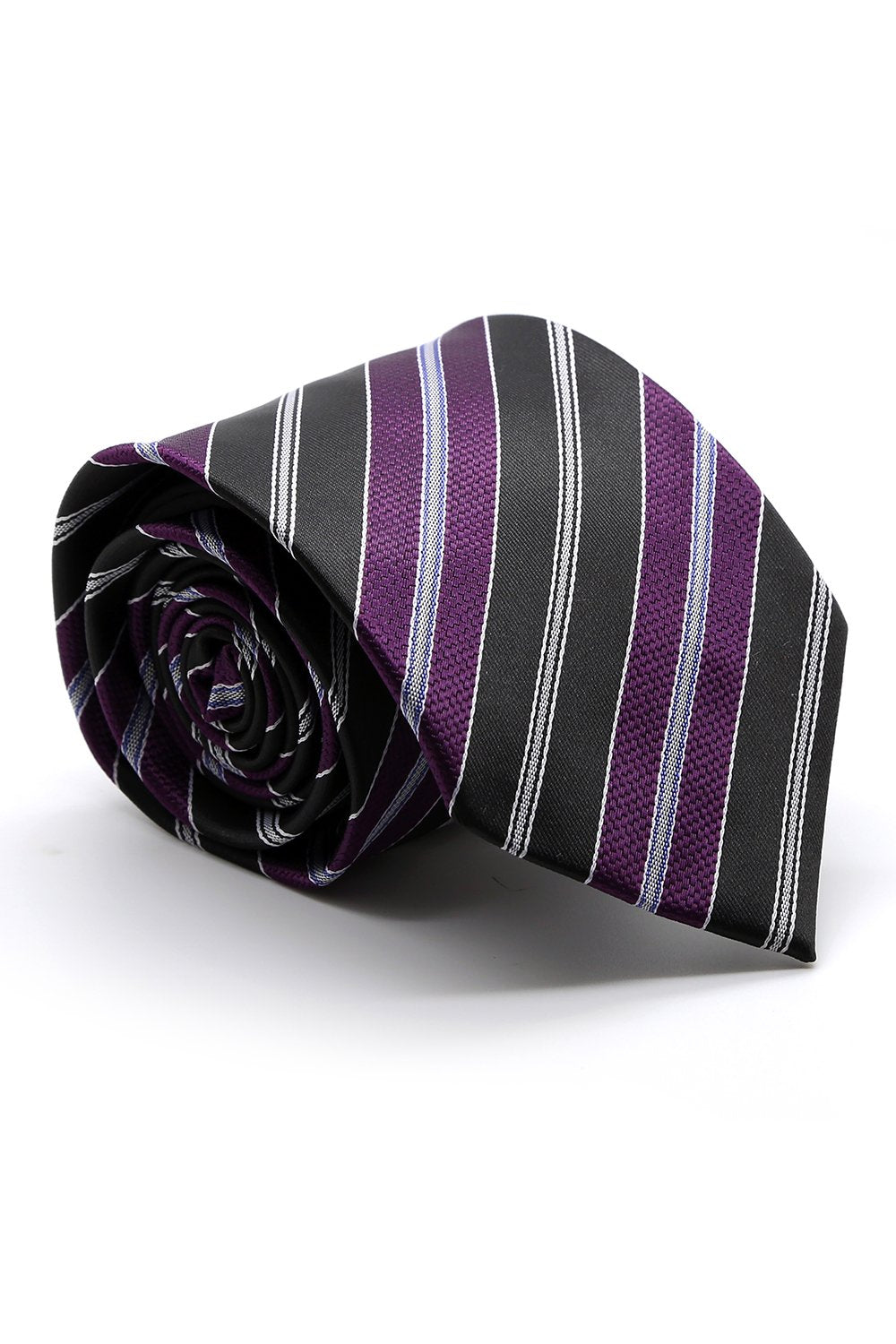 Purple and Black Santa Maria Necktie