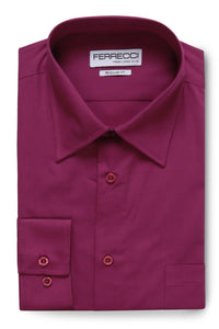"Ferrecci ""Virgo"" Purple Dress Shirt"