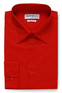 "Ferrecci ""Virgo"" Red Dress Shirt"