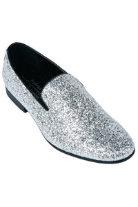 """Sparkle"" Silver Shoes"
