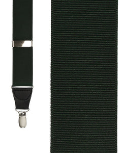 """Hunter Grosgraine Ribbon"" Suspenders"