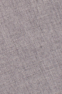 Heather Grey Luxury Wool Blend Suit Pants - Unhemmed