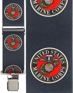 """Marines Armed Forces"" Suspenders"
