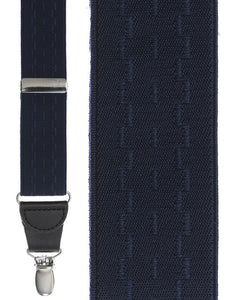 """Navy New Wave"" Suspenders"