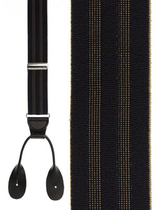 """Navy Shadow Stripe"" Suspenders"