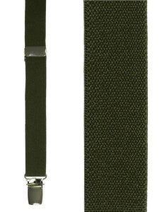 """Olive Oxford"" Suspenders"