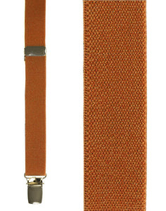 """Orange Oxford"" Suspenders"