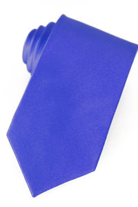 Royal Blue Silk Necktie