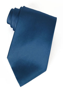 Oxford Blue Silk Necktie