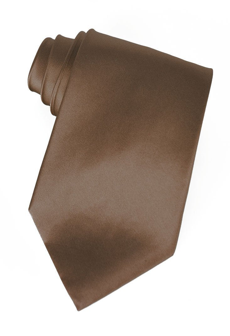 Brown Silk Necktie
