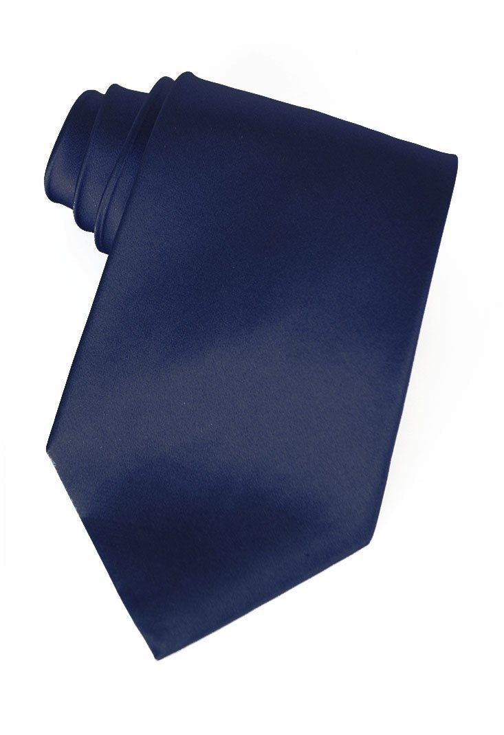 Navy Silk Necktie