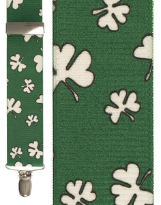 """Shamrocks"" Suspenders"