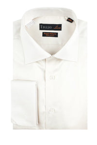 "Tiglio ""Genova RC"" Off White Dress Shirt"