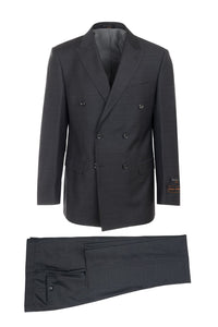 "Tiglio ""Merlot"" Charcoal Grey Suit"