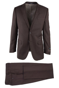 "Tiglio ""Novello"" Brown Birdseye Suit"