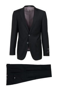 "Tiglio ""Porto"" Black Slim Fit Suit"