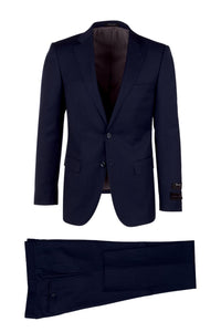 "Tiglio ""Porto"" Dark Blue Slim Fit Suit"