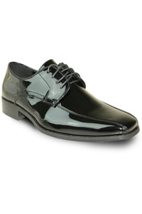 """Firenze"" Black Vangelo Tuxedo Shoes"