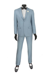 "Vinci ""Lorenzo"" Pale Blue Suit"