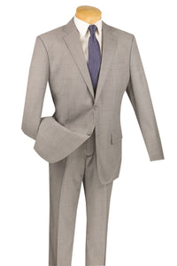 "Vinci ""Paolo"" Grey Wool Suit"